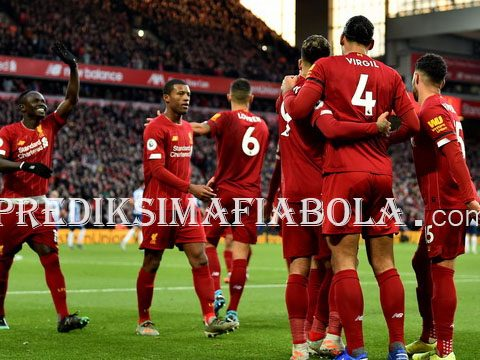 Data Pertandingan Liverpool 2019 Hanya Kalah Satu Kali