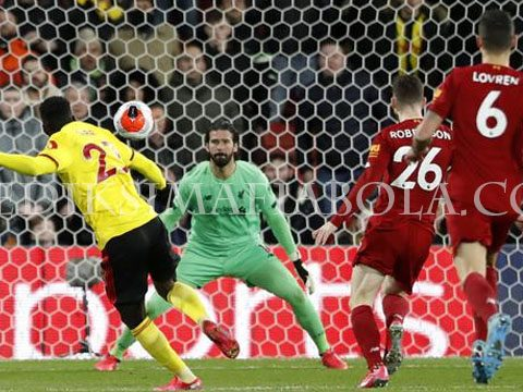 Statistik Laga Watford vs Liverpool 3-0